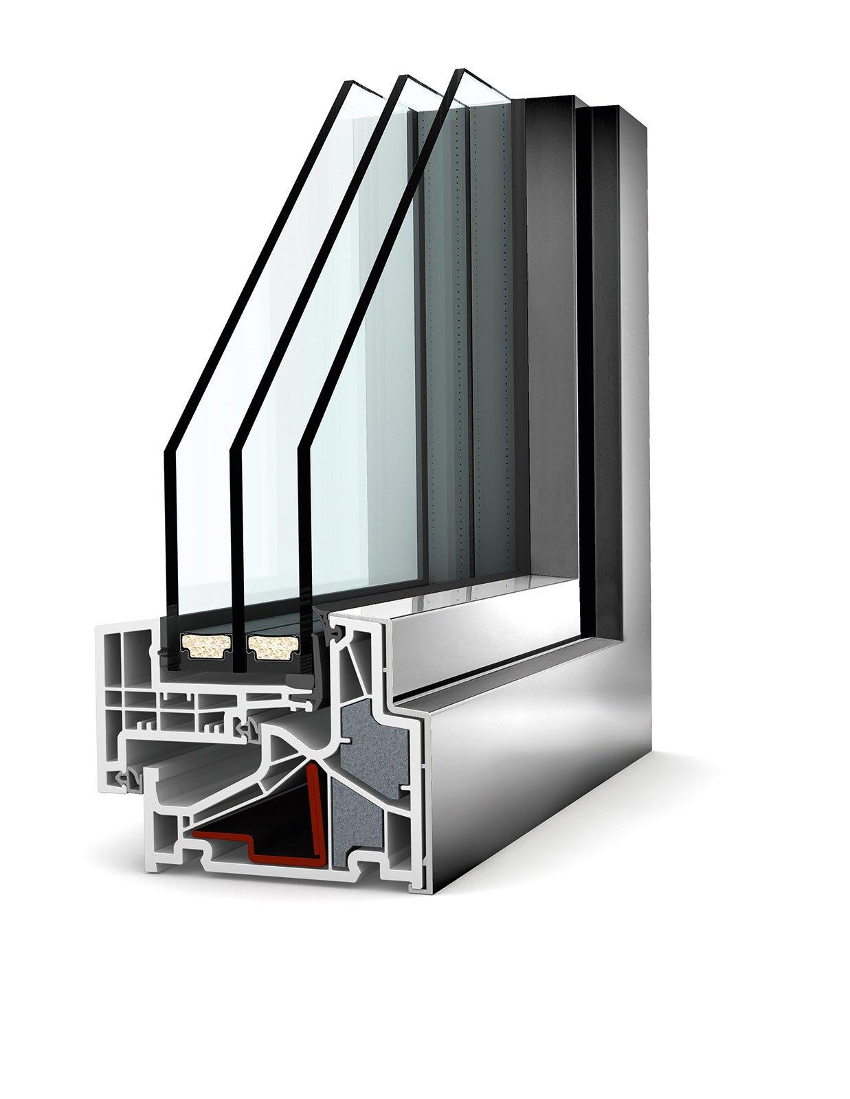Scegliere le finestre isolanti per evitare dispersione e - Altezza di una finestra ...