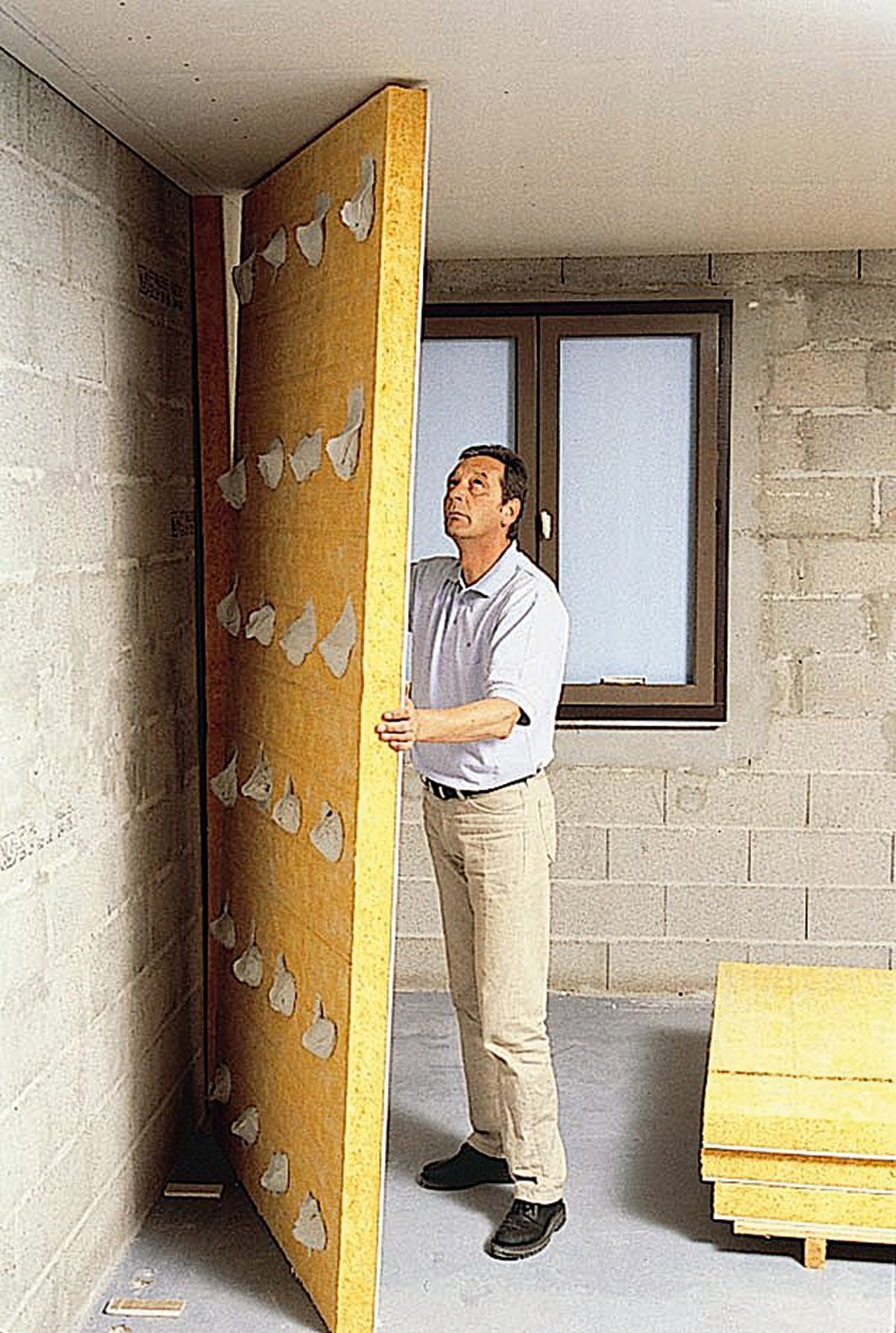Isolamento termico coibentare le strutture verticali per - Pannelli isolanti per sottotetto ...