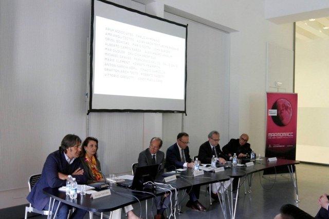 Conferenza di presentazione Marmomacc e Abitare il Tempo