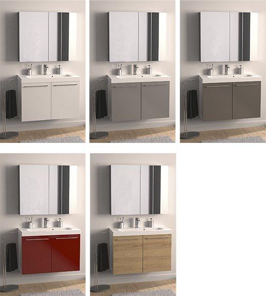 Bagno creativit e personalizzazione a prezzi convenienti cose di casa - Leroy merlin mobile bagno ...