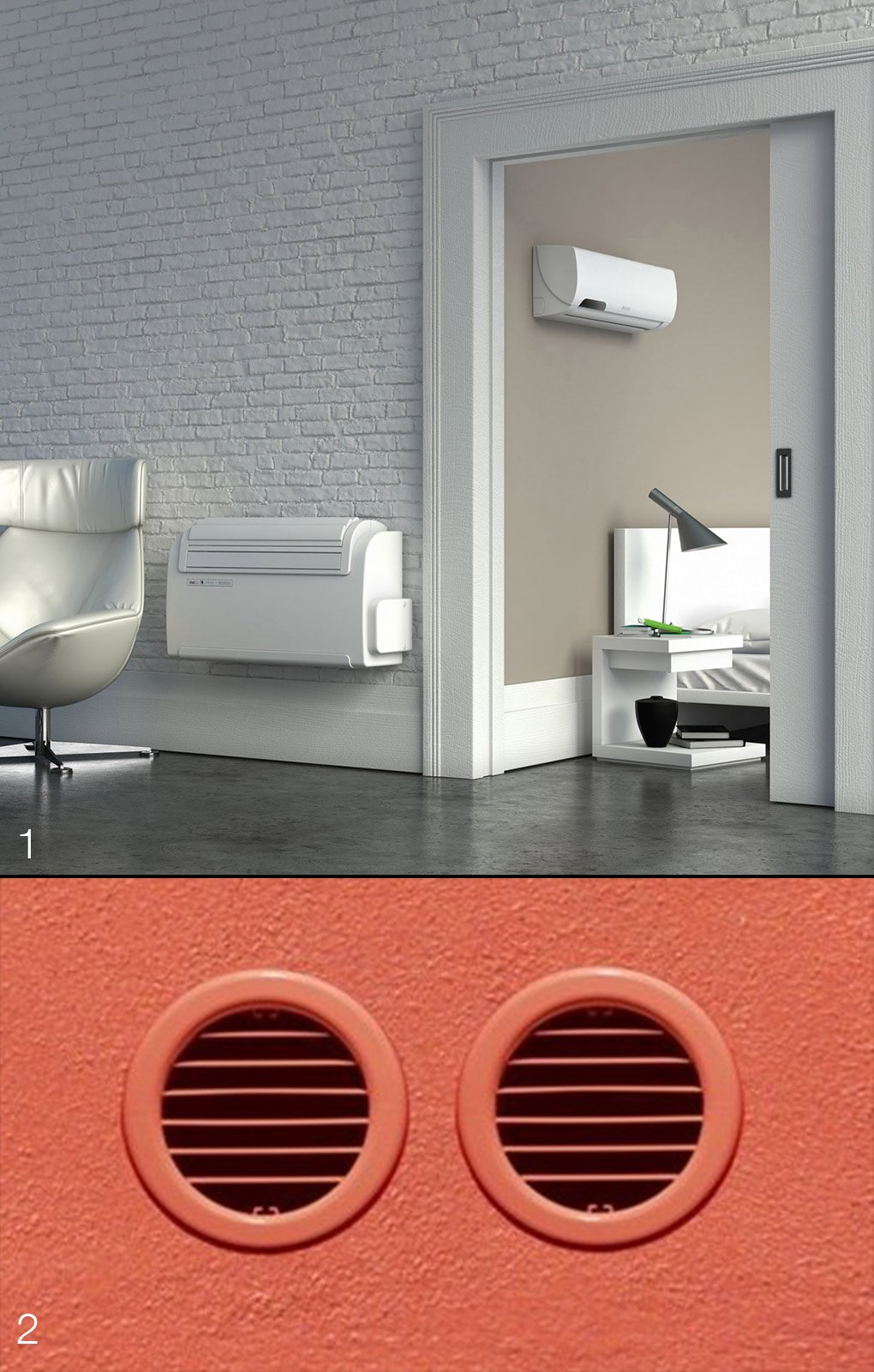 Climatizzatore che cosa sapere sull 39 unit esterna cose for Climatizzatore casa