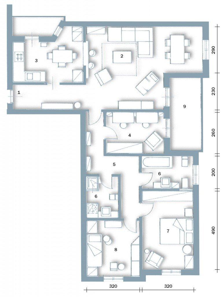 Una casa formato famiglia cose di casa for Pianta di una casa