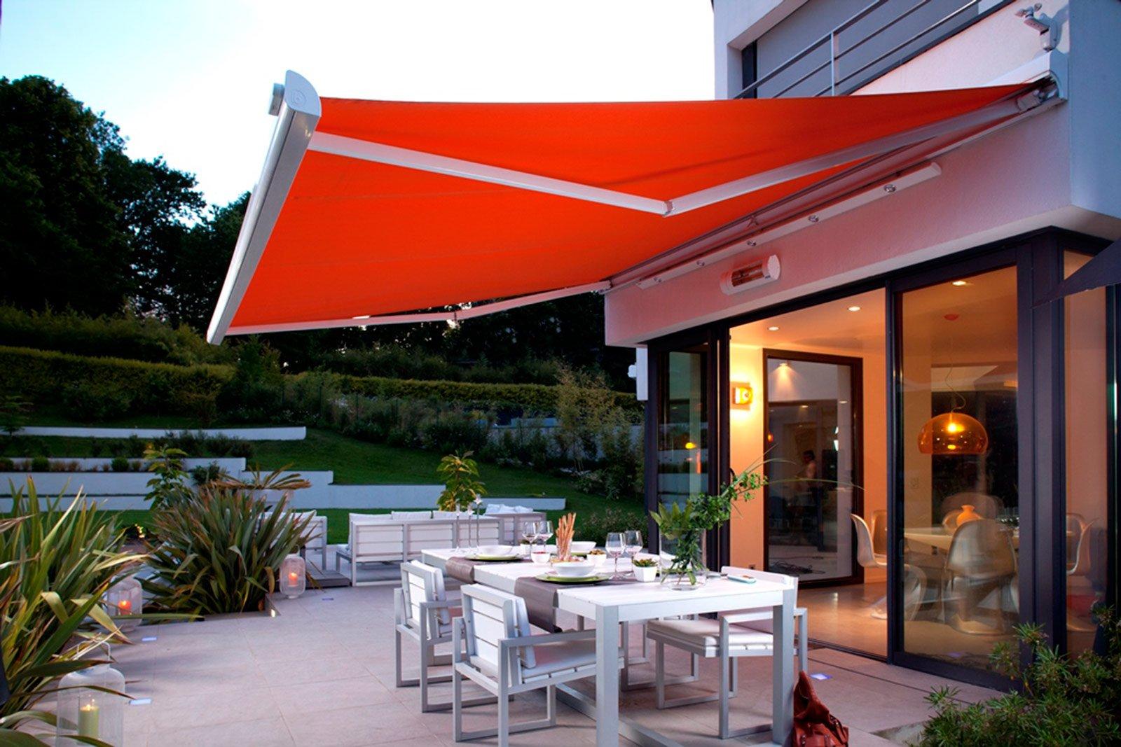 Tende da sole per terrazzo o giardino cose di casa - Tende ikea da esterno ...