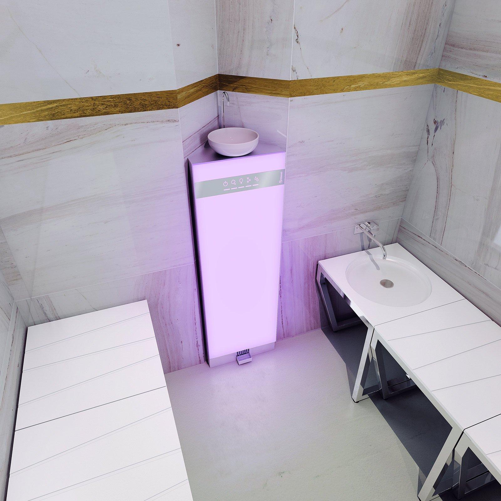 Il bagno turco a casa cose di casa - Bagno di vapore benefici ...