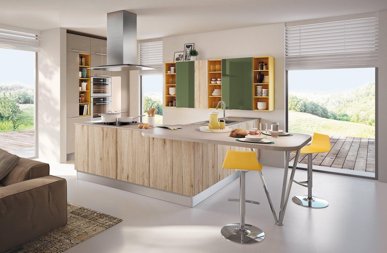 Banco snack pratico e conviviale cose di casa - Sgabelli per cucina moderna ...