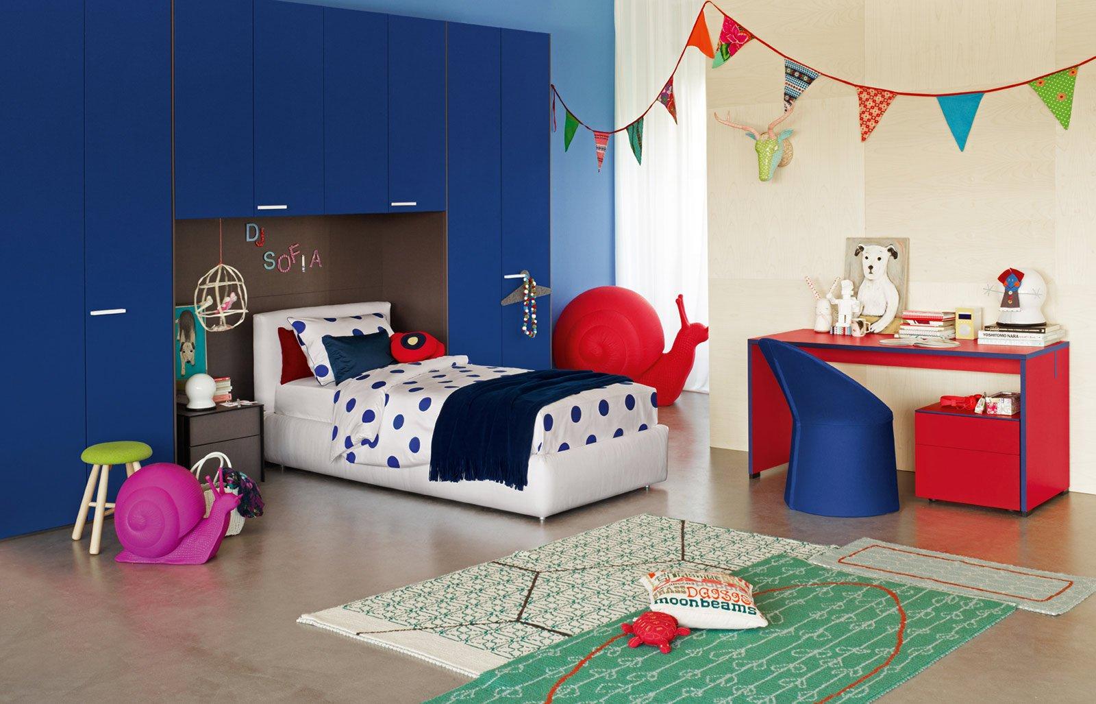 Camerette Per Ragazzi Flou : Camerette per dormire studiare e giocare cose di casa