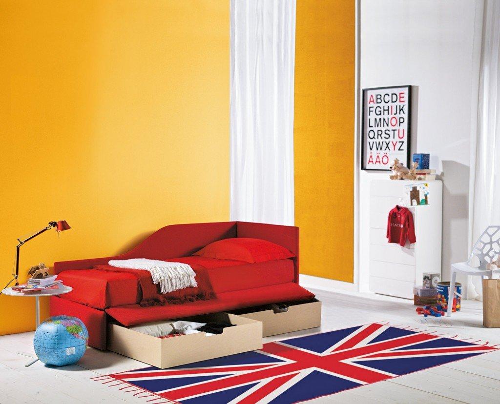 Duplo di Bontempi Casa Letti Design è un letto divano che permette di ...