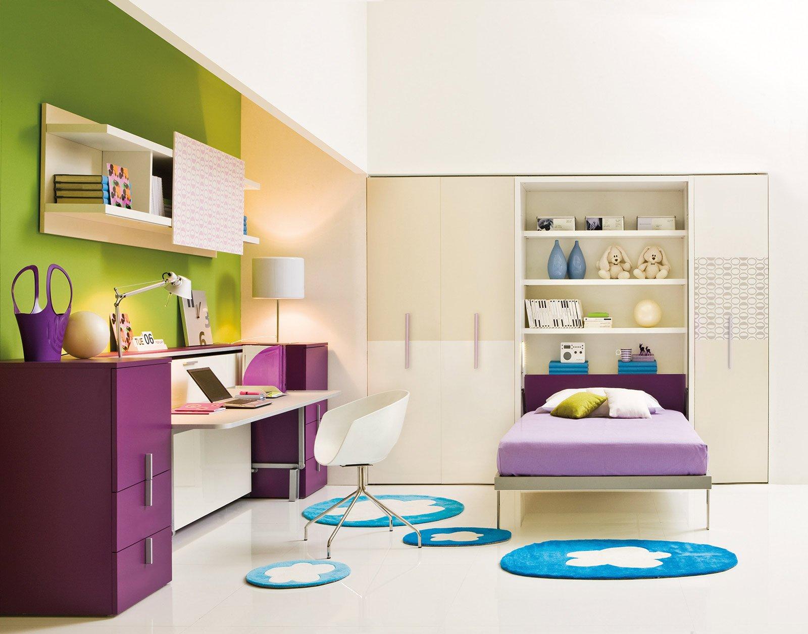 Camerette per dormire studiare e giocare cose di casa for Case con due master suite