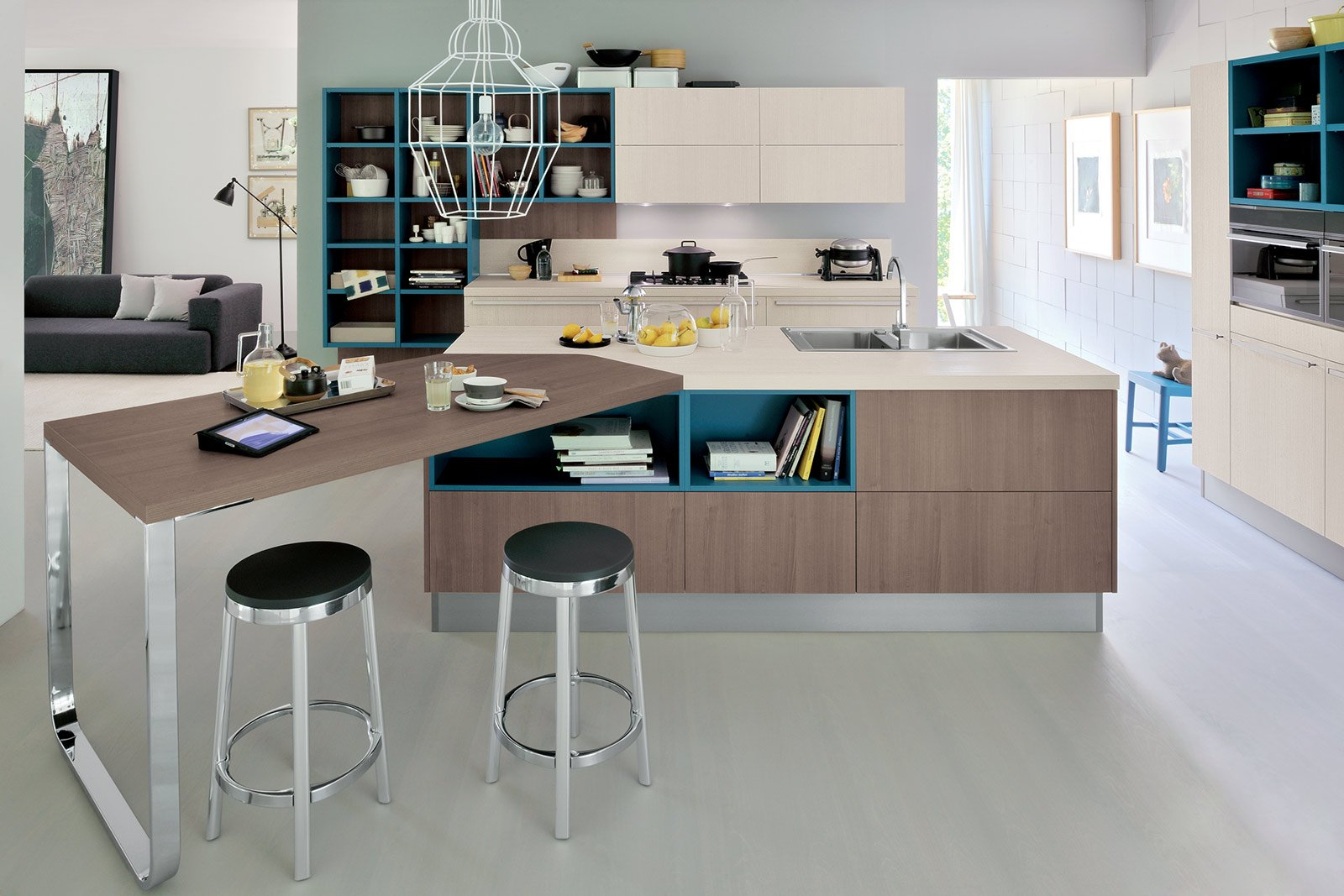 Banco snack pratico e conviviale cose di casa - Tavolo snack cucina ...