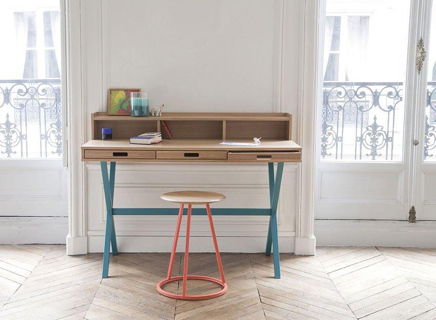 Lavorare comodamente da casa ecco la scrivania giusta for Scrivania design