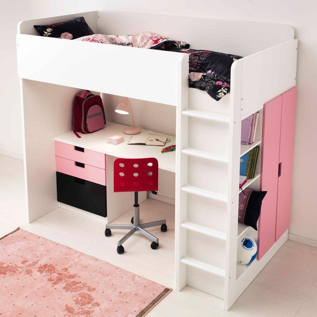 Camerette per dormire studiare e giocare cose di casa - Montare letto ikea ...