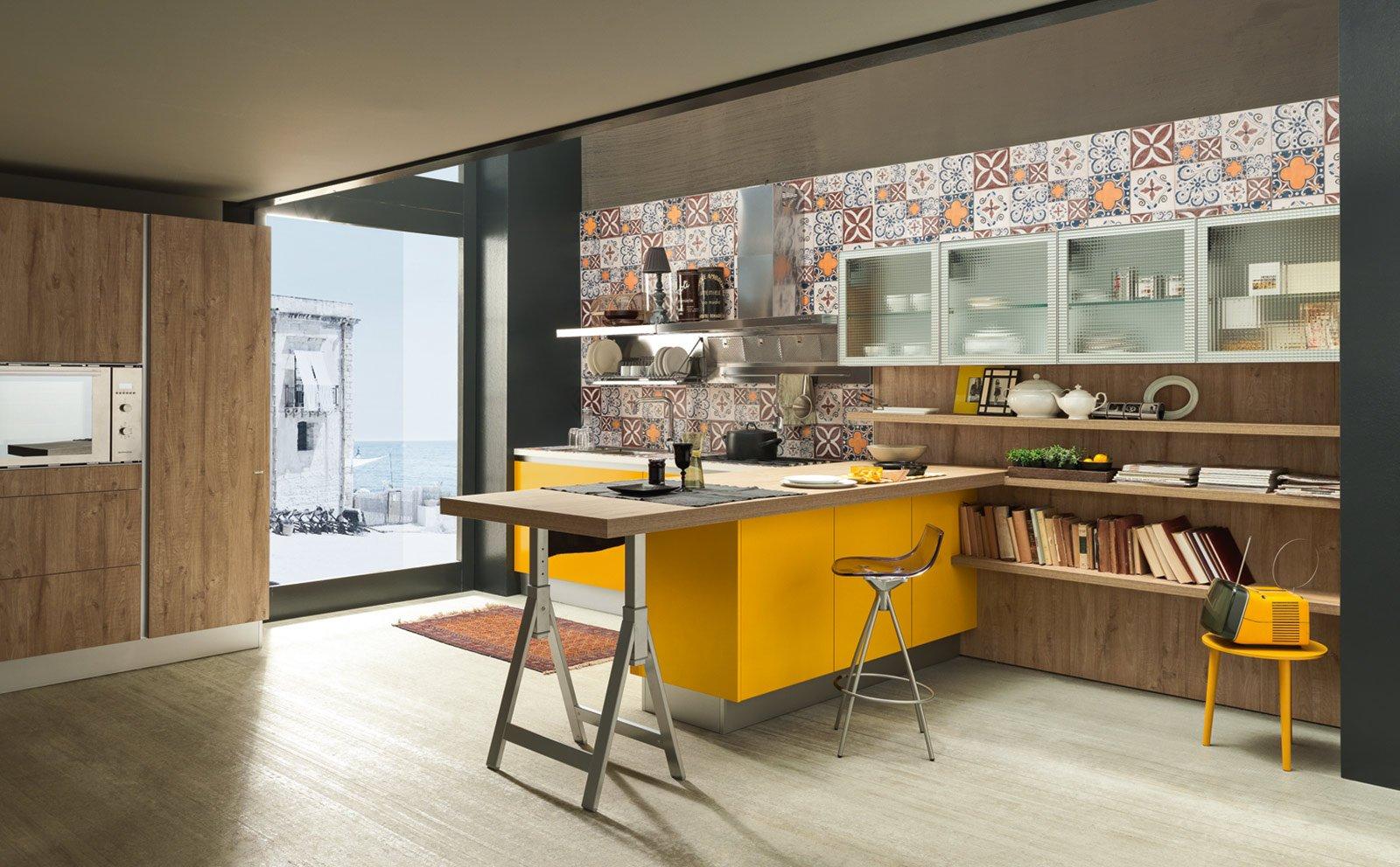 Banco snack pratico e conviviale cose di casa for Piano snack cucina