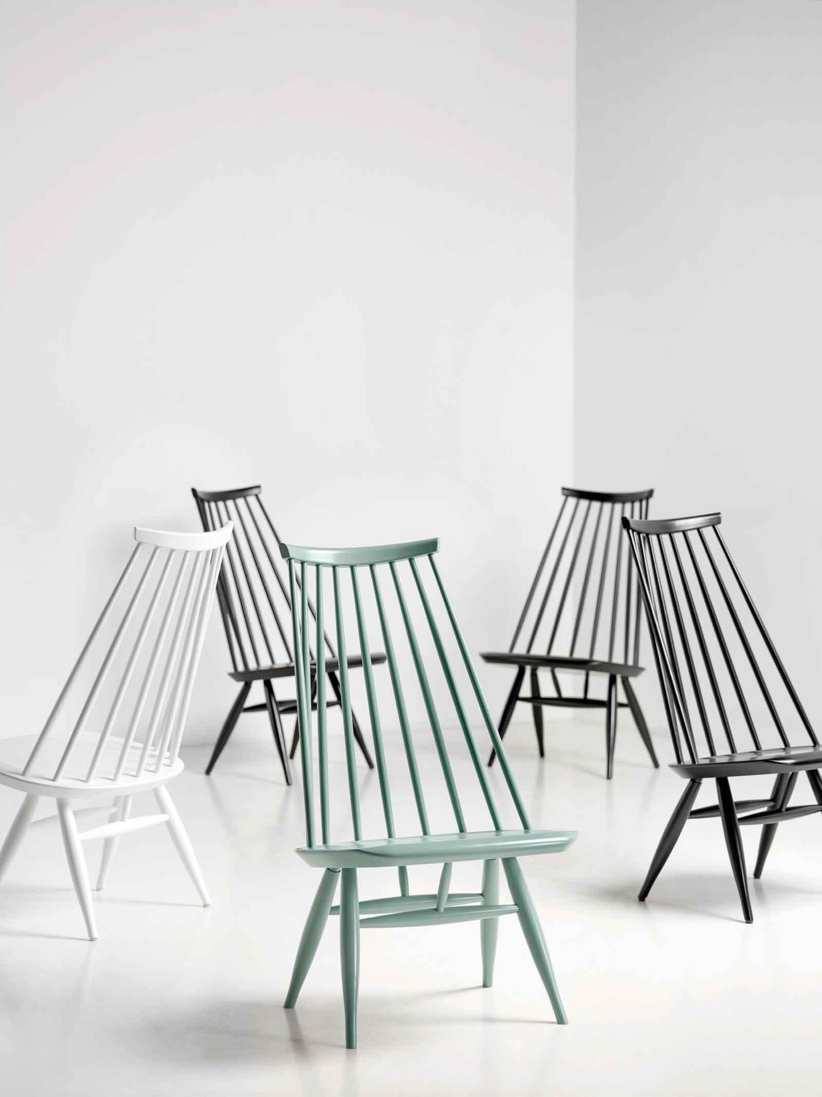 Tendenza anni 39 50 per arredare con uno stile for Ikea sedia a dondolo bianca