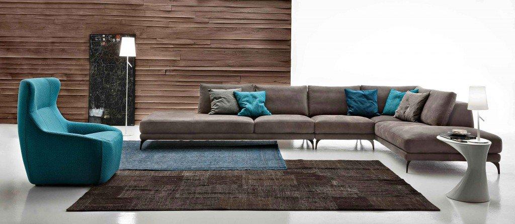 Divani angolari componibili una l per arredare il - Ikea piedini divano ...
