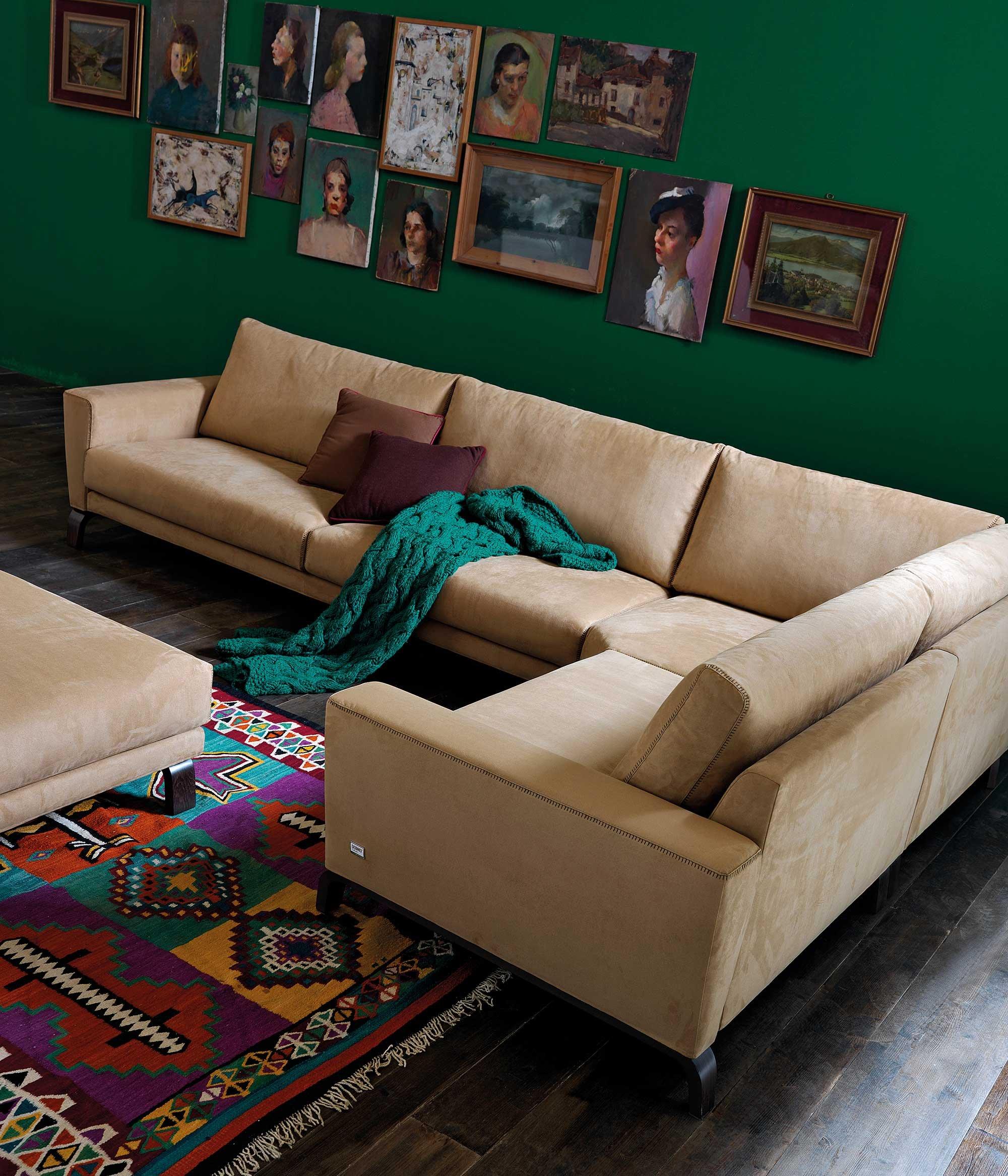 divani angolari componibili: una