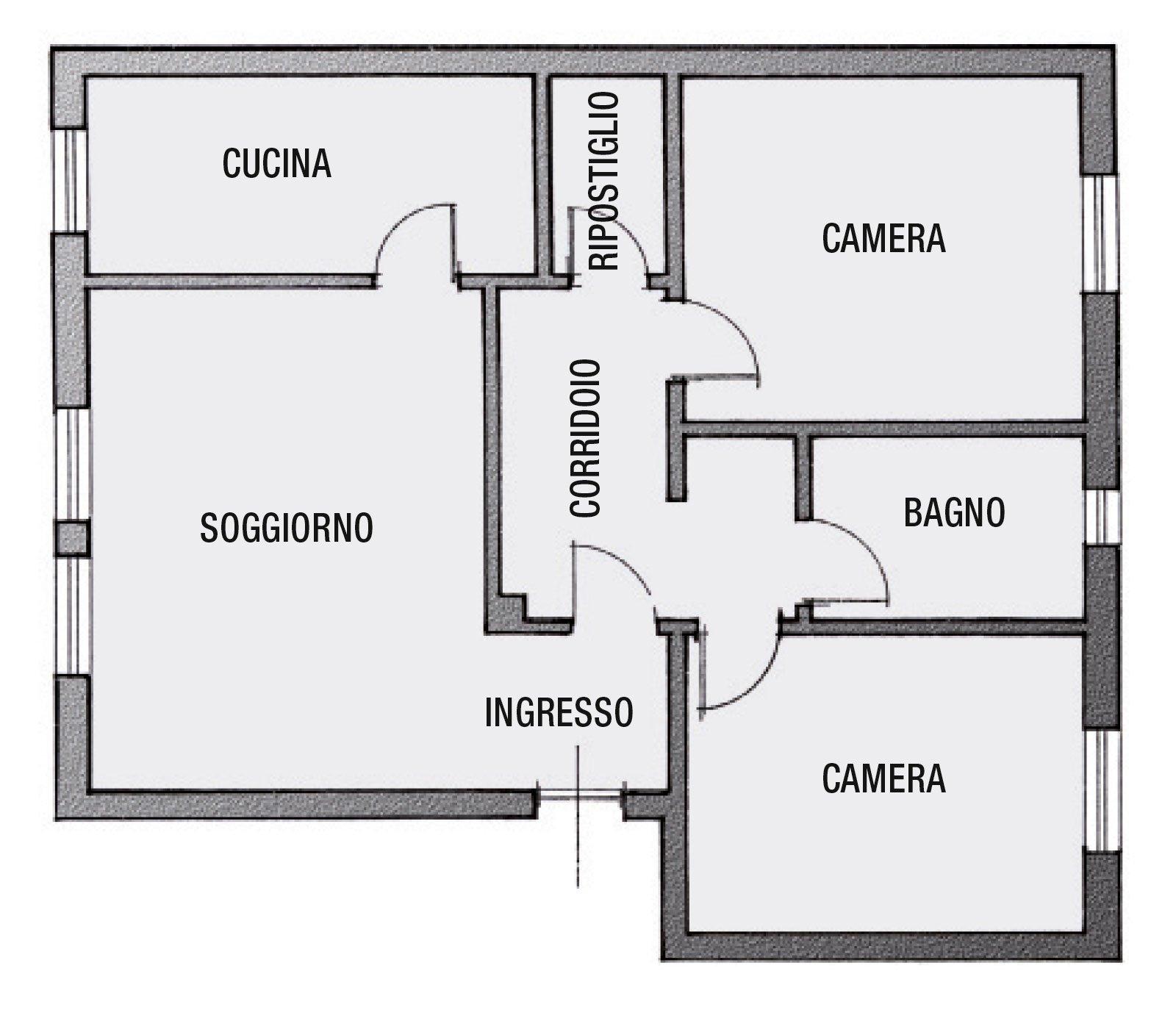 Casabook immobiliare da ripostiglio a bagno la pianta - Pianta bagno ...