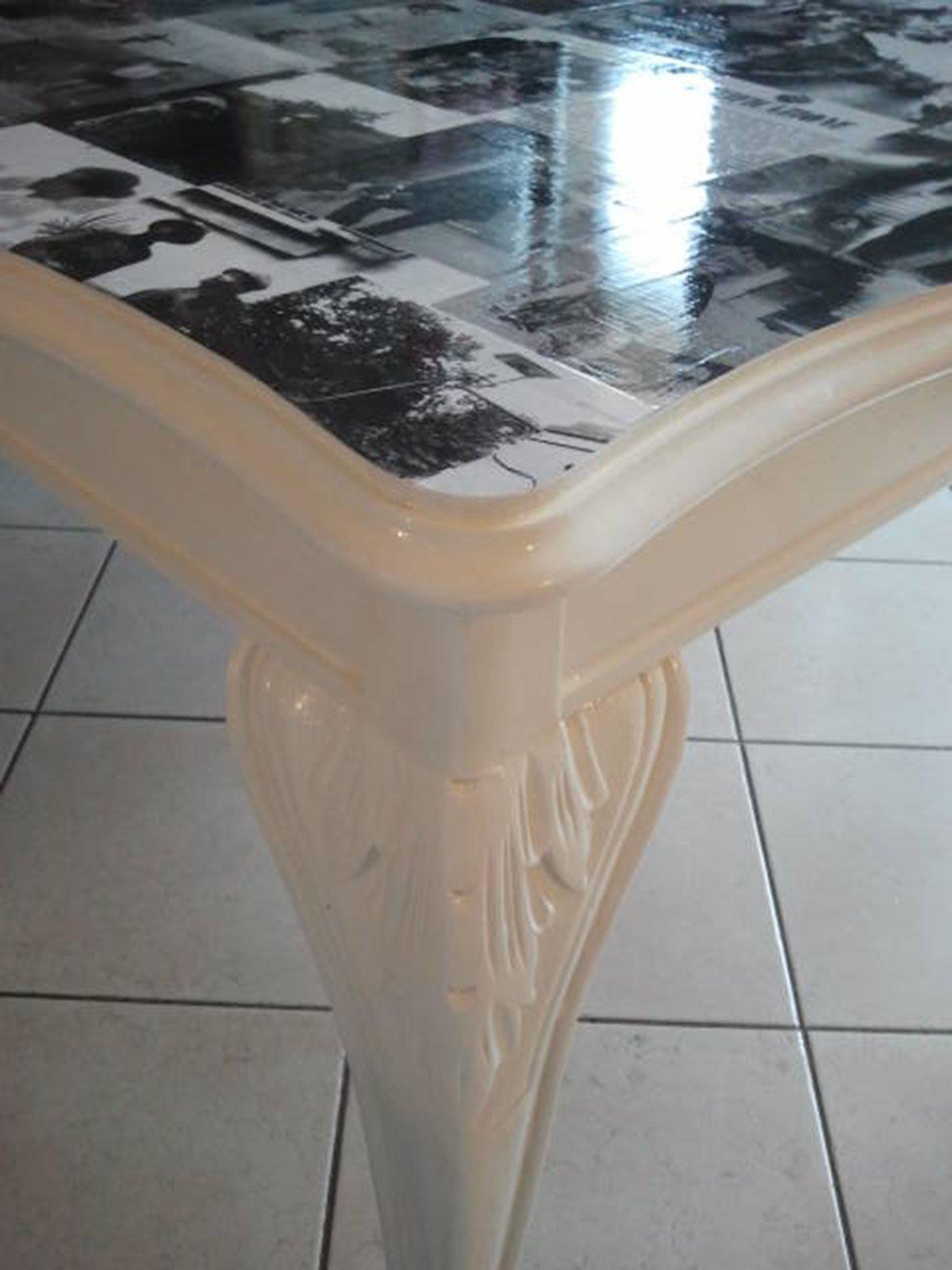 Rinnovare un vecchio tavolo in legno cose di casa for Tavolo legno vecchio usato