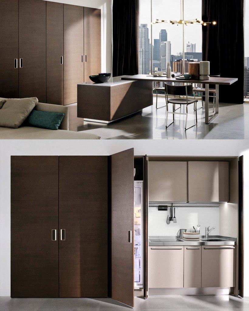 La cucina nell 39 armadio cose di casa - Cucina compatta ikea ...
