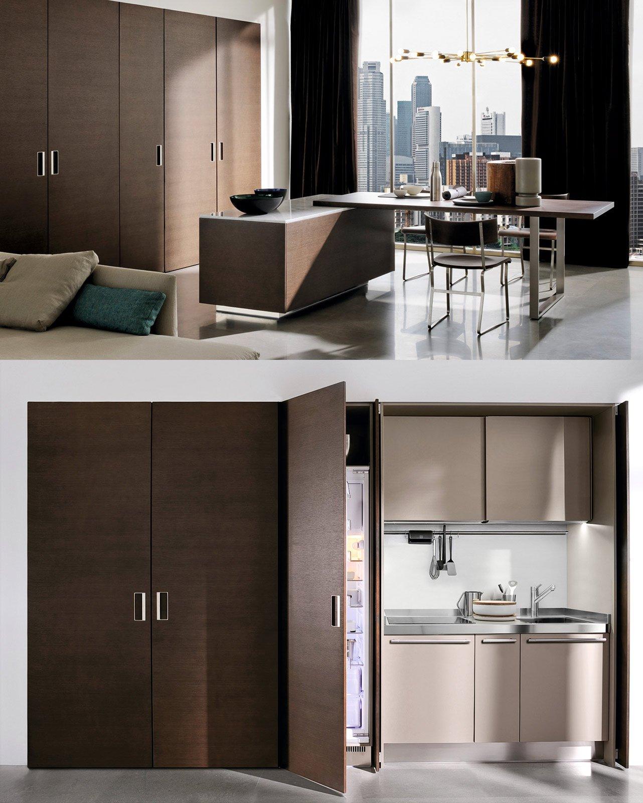 La cucina nell 39 armadio cose di casa - Mobili cucina ikea misure ...