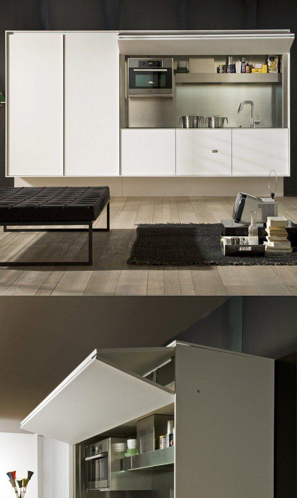 La cucina nell 39 armadio cose di casa - Moduli componibili cucina ...