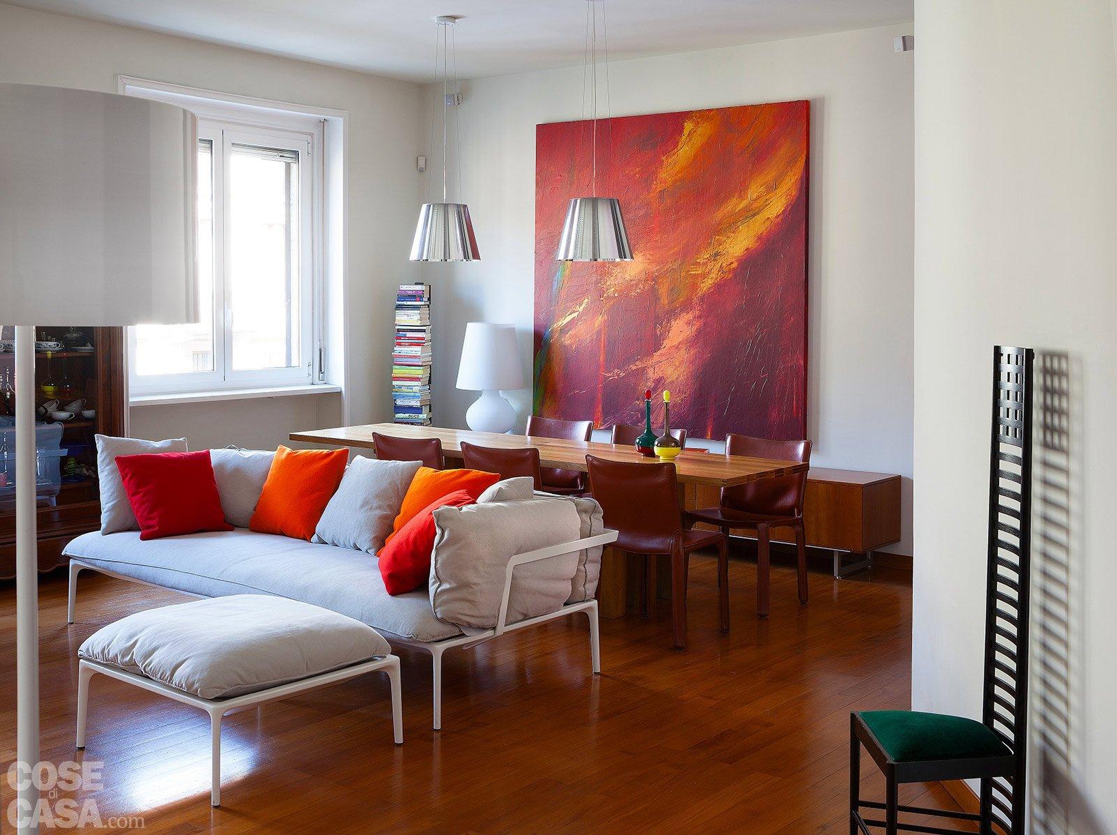 Via il corridoio spazi pi ampi cose di casa for Immagini pareti colorate soggiorno