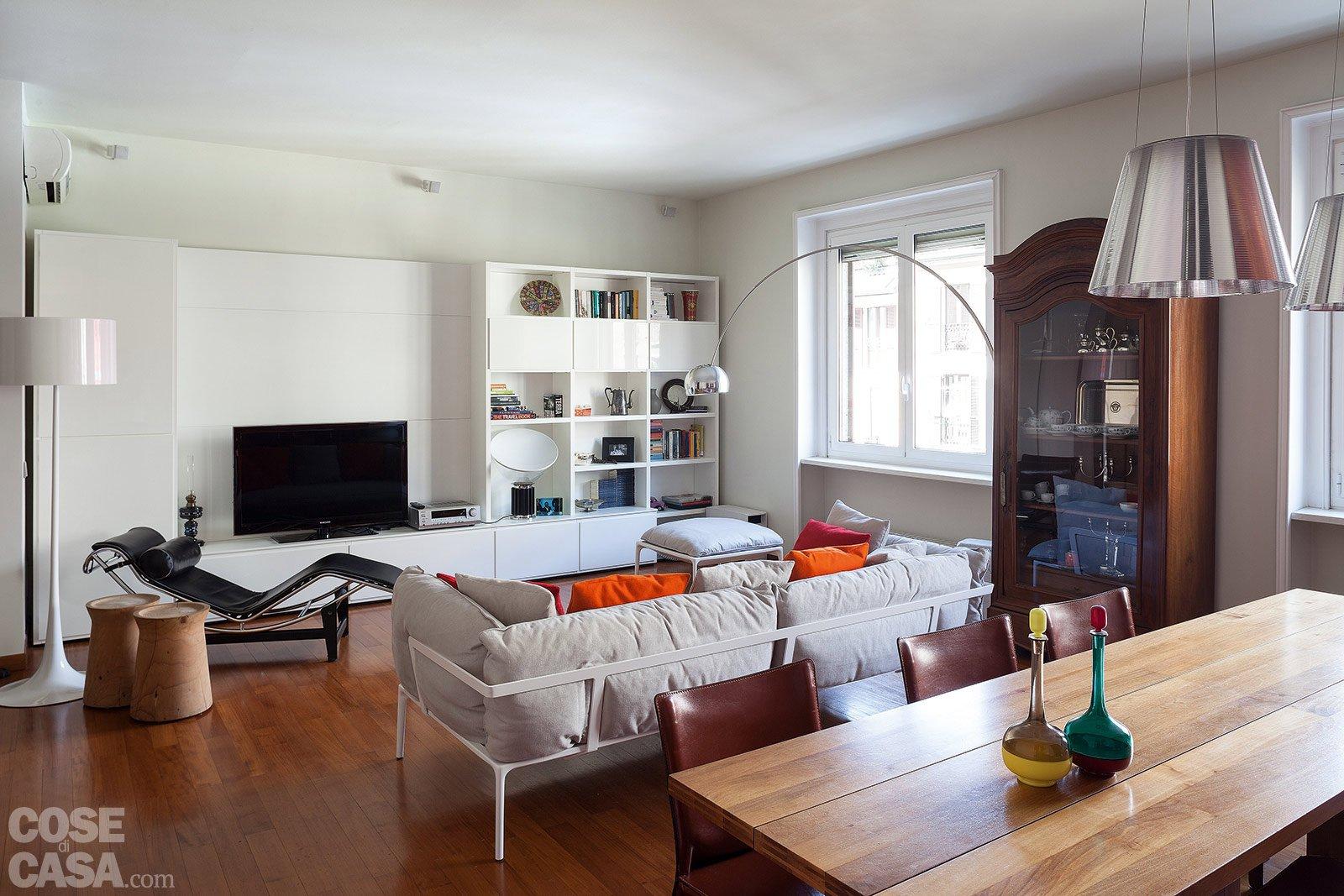 via il corridoio, spazi più ampi - cose di casa - Soggiorno Ad Angolo Moderno 2