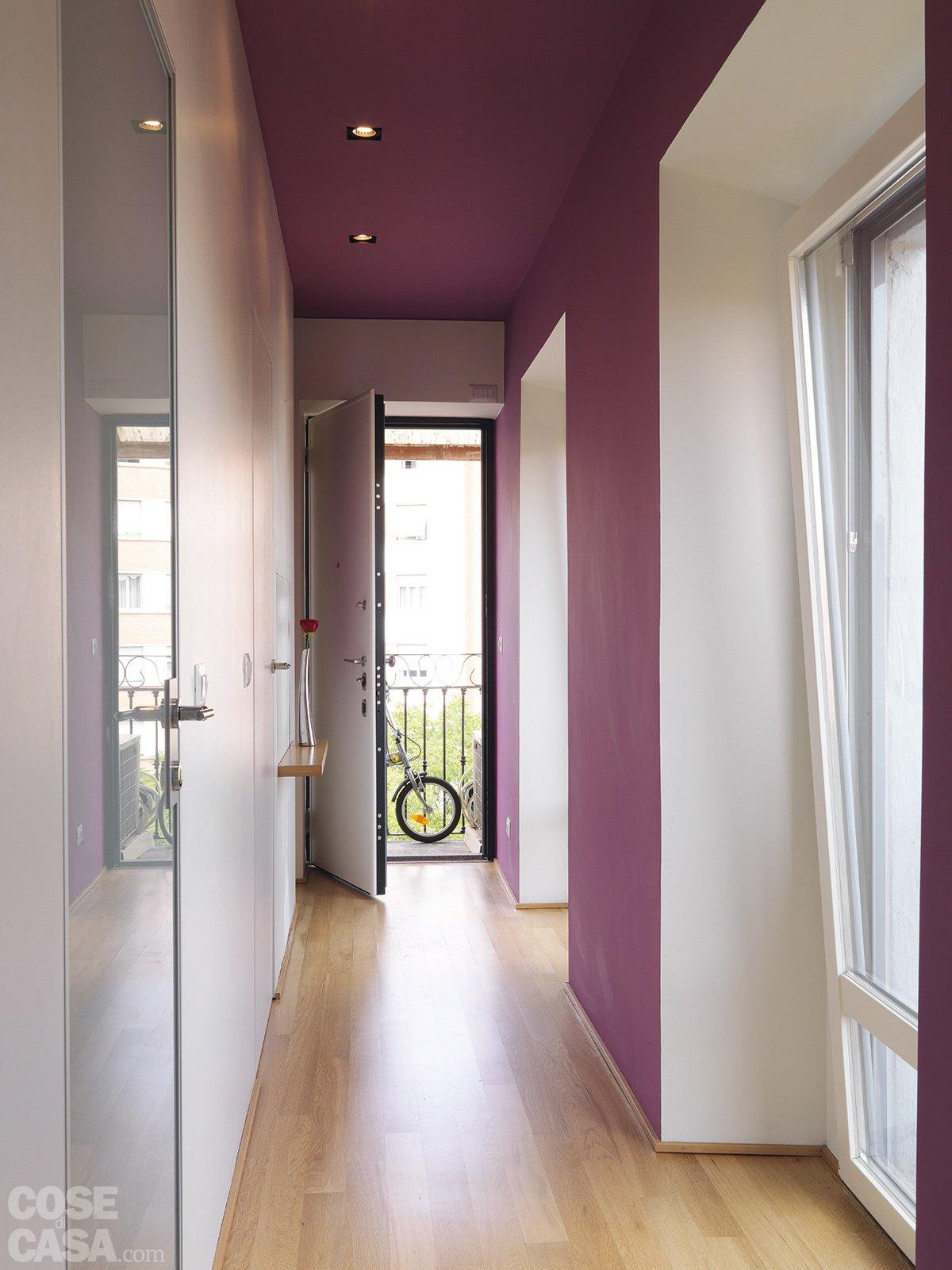 In 40 mq cambiano le prospettive cose di casa for Arredare corridoio stretto e corto