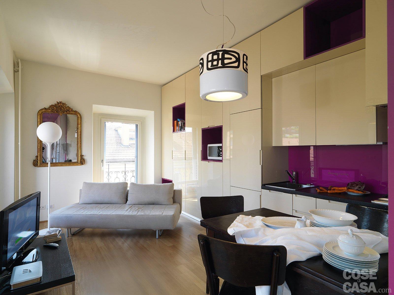 in 40 mq cambiano le prospettive - cose di casa - Arredare Soggiorno Con Sala Da Pranzo 2