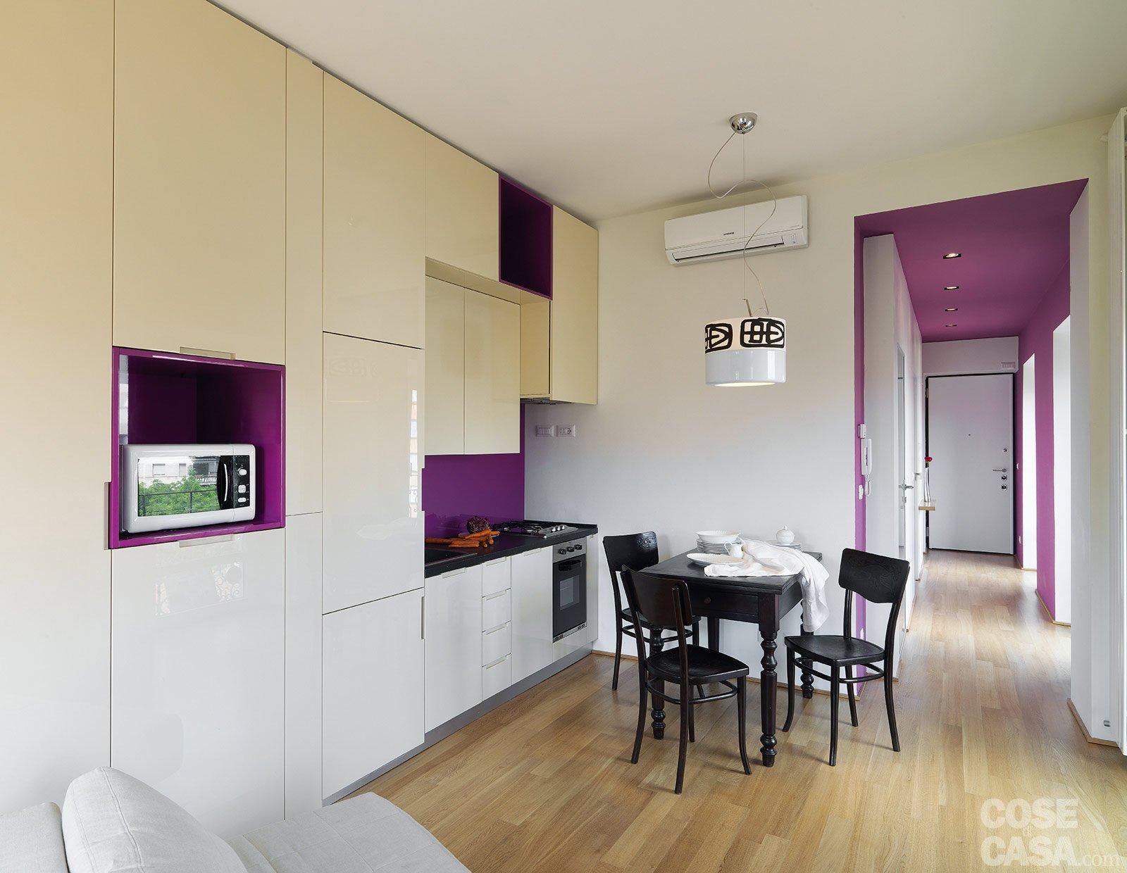 beautiful salone e cucina unico ambiente contemporary - home ... - Realizzare Unico Ambiente Cucina Soggiorno 2