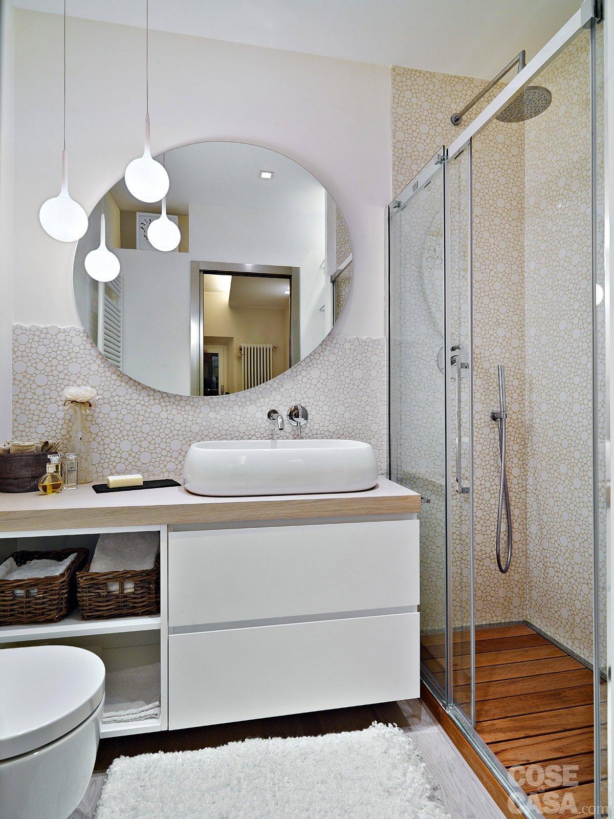50 mq obiettivo massimo comfort cose di casa for Arredare bagno piccolo con lavatrice