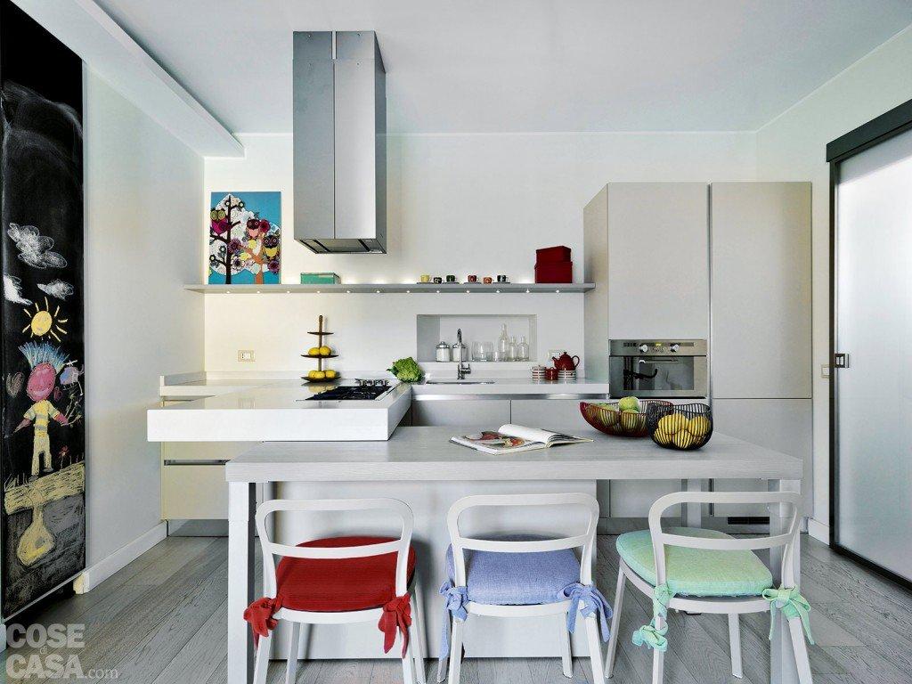Il Cuore Del Living è La Cucina Alla Quale è #7C1F1C 1024 768 Quanto è Alto Il Top Della Cucina