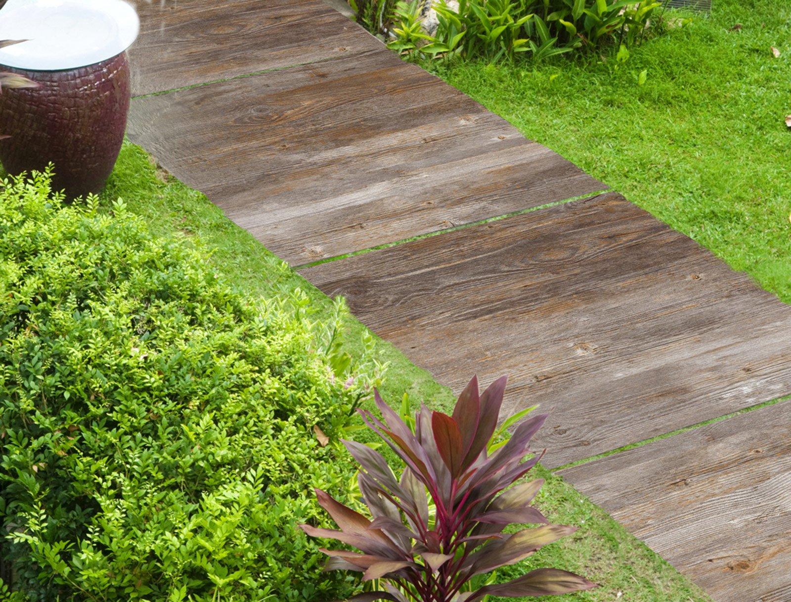 Il pavimento fuori di casa cose di casa - Gres porcellanato effetto legno da esterno ...