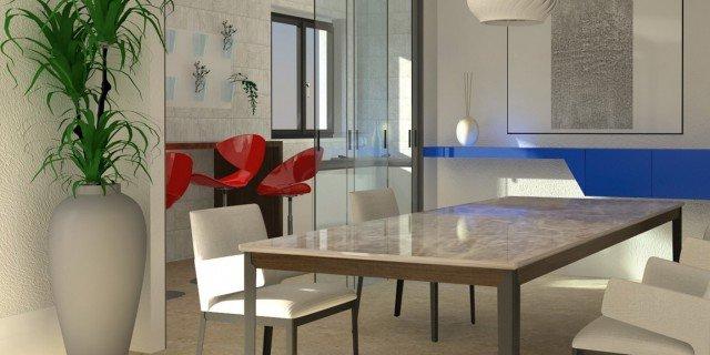 Progettazione cucine arredamento cose di casa for Progetti di cucina open space