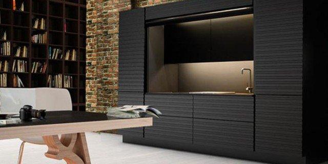 La cucina nell 39 armadio cose di casa - Cucina nascosta ...