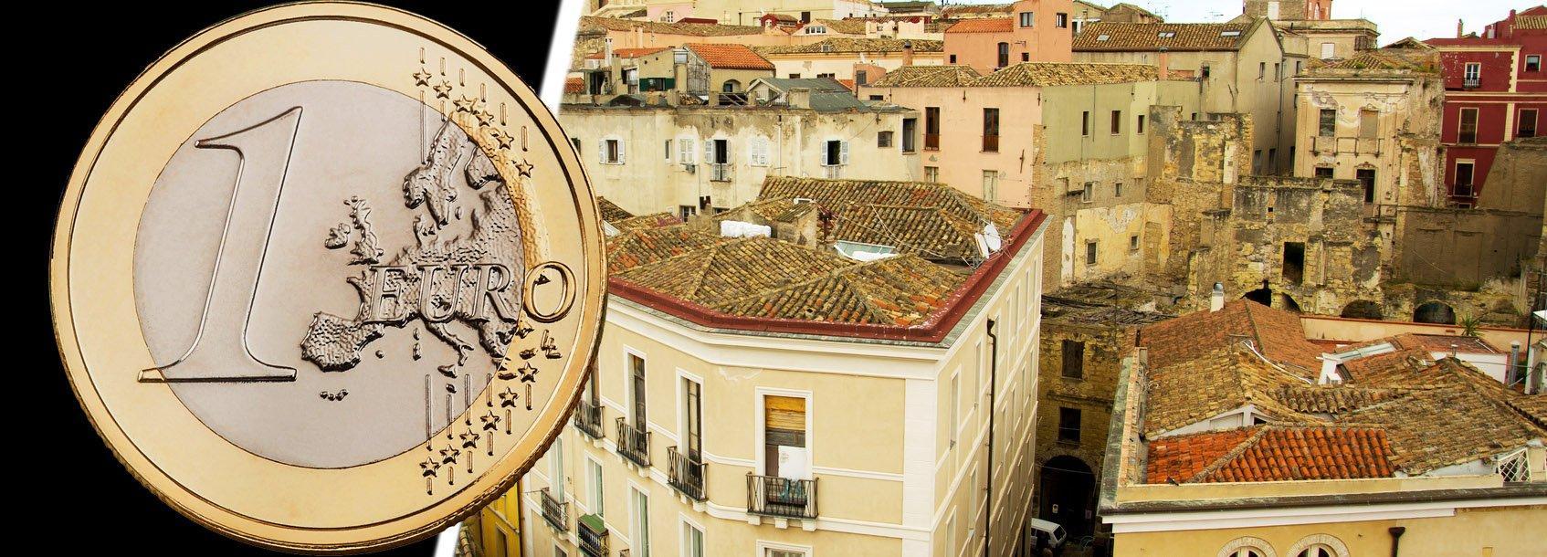 Centri storici ecco dove comprare casa a 1 euro e for Piani di casa storici