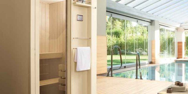La sauna, anche a casa
