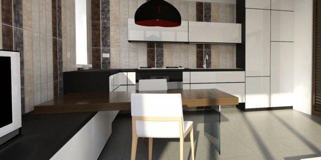 Cucina e living sono un tutt uno cose di casa - Creare una cucina ...