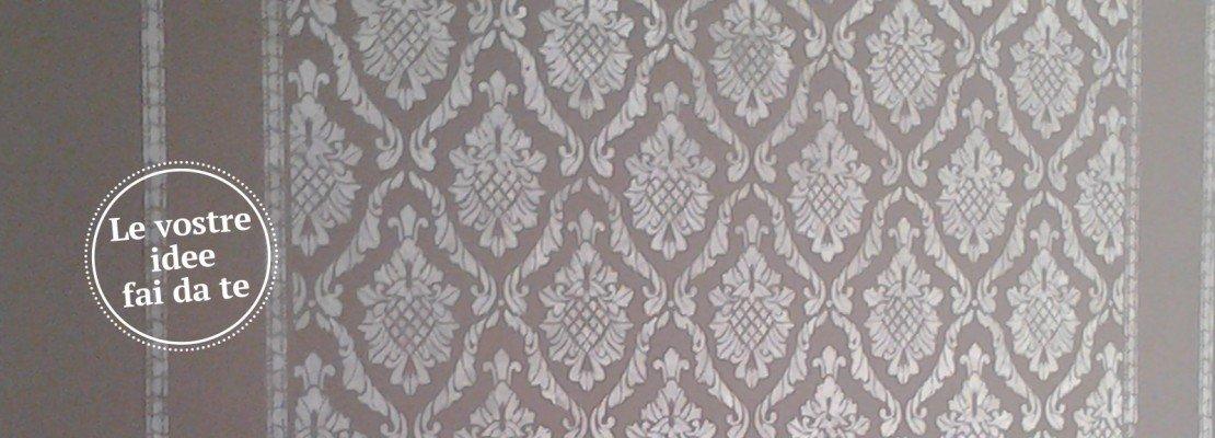 stencil muro gocce colorate : Decorare la parete a stencil - Cose di Casa