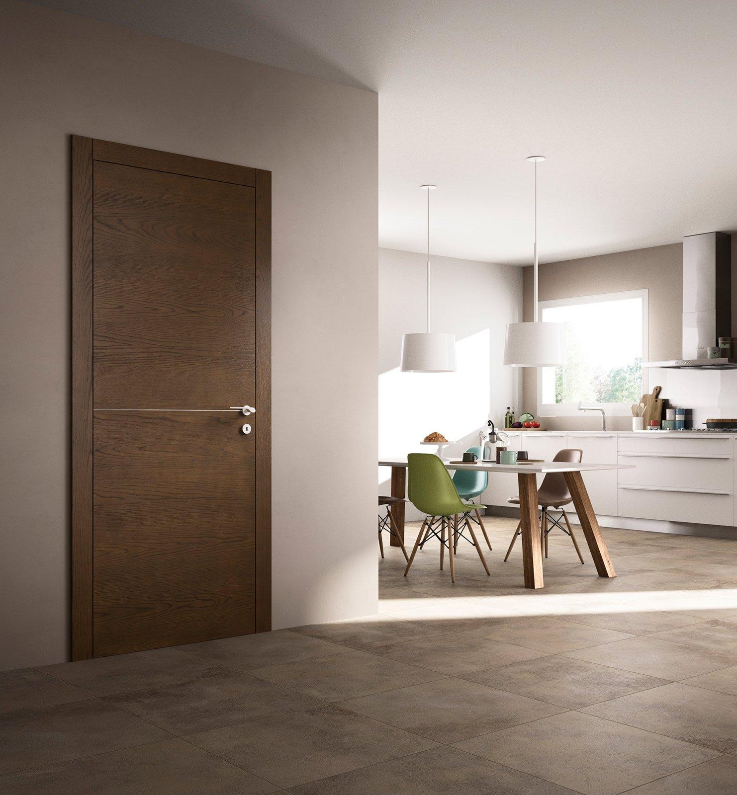 Arredare con le porte cose di casa - Abbinare pavimento e mobili ...