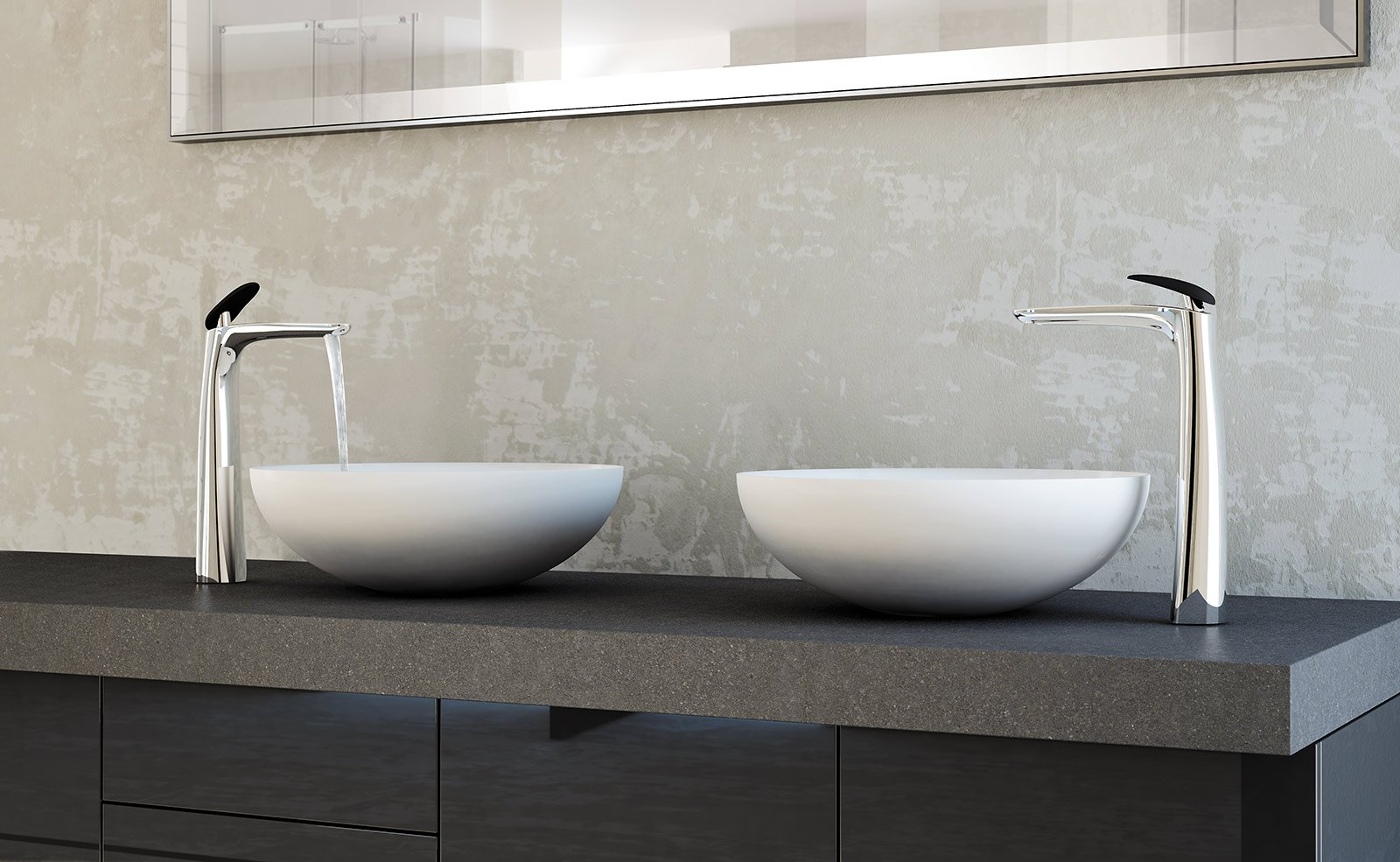 Rubinetteria per il lavabo cose di casa - Rubinetti bagno ottone ...