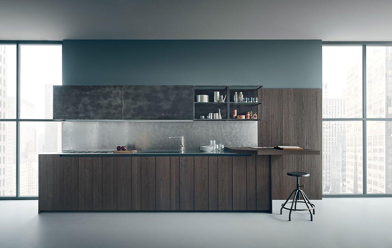 Dal legno alla pietra i materiali tradizionali in cucina - Cucine zampieri prezzi ...