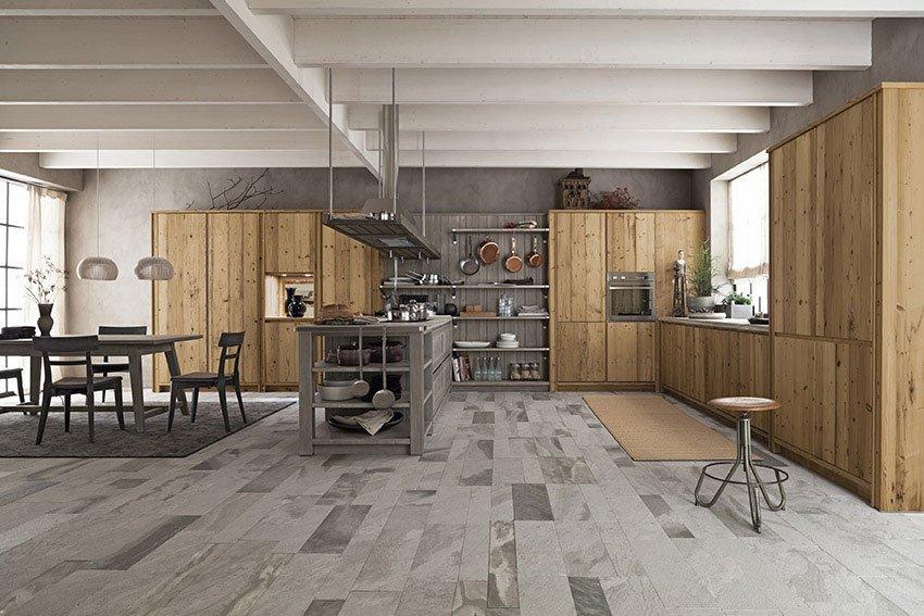 Dal legno alla pietra, i materiali tradizionali in cucina - Cose ...