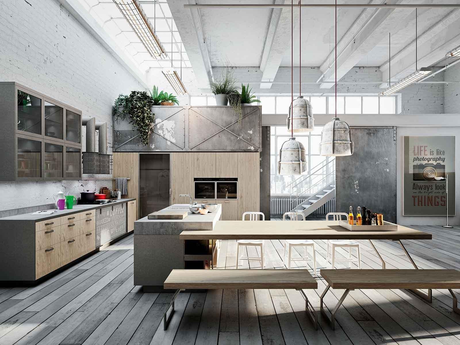 Una cucina con cabina lavanderia cose di casa for Piccoli layout di cucina per cabina