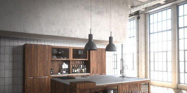 Dal legno alla pietra, i materiali tradizionali in cucina