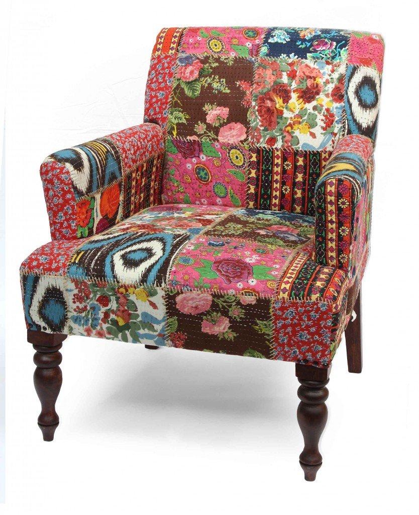 Rivestire divano patchwork idee per il design della casa for Rivestire divano