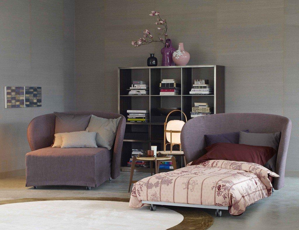 Poltrone per completare il salotto o crearne uno mini for Smart relax divano letto prezzo