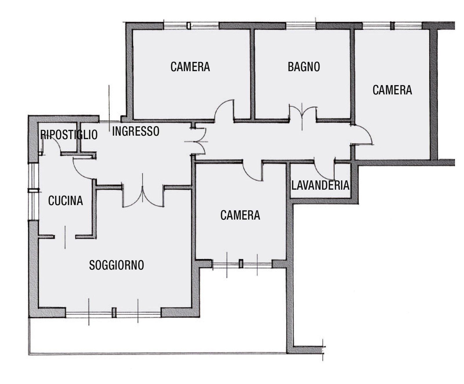 Casabook immobiliare ricavare due bagni da uno for Bagno 7 mq