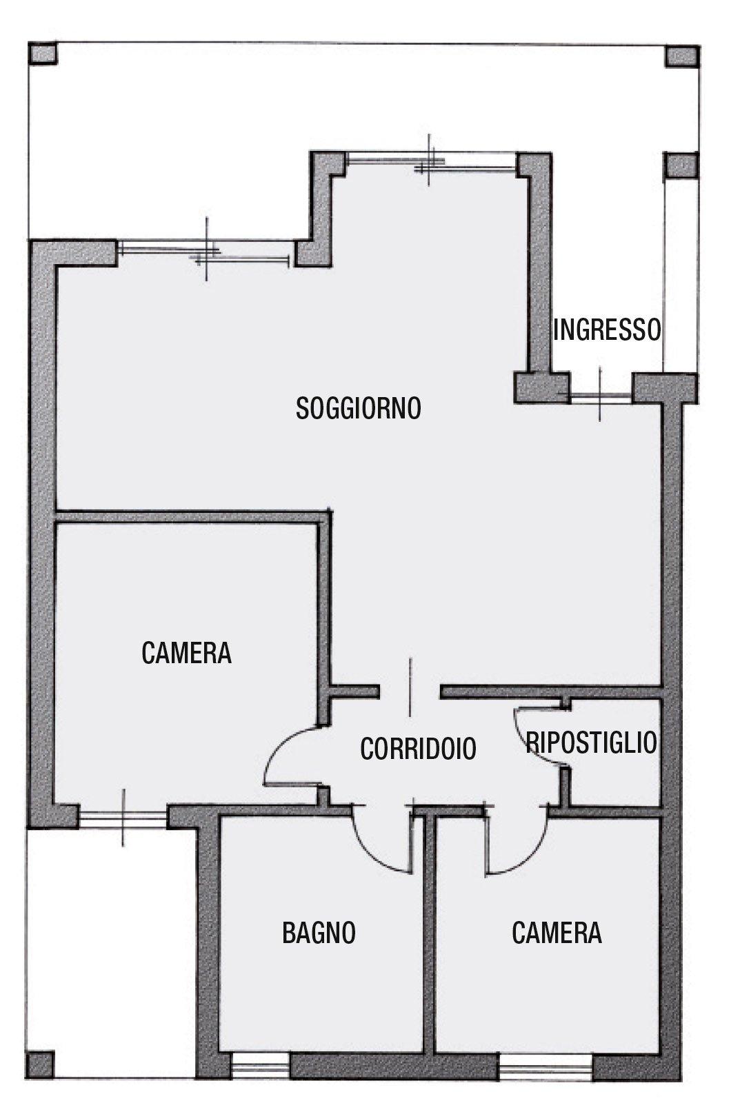 Casabook Immobiliare: Ricavare il secondo bagno. Il progetto
