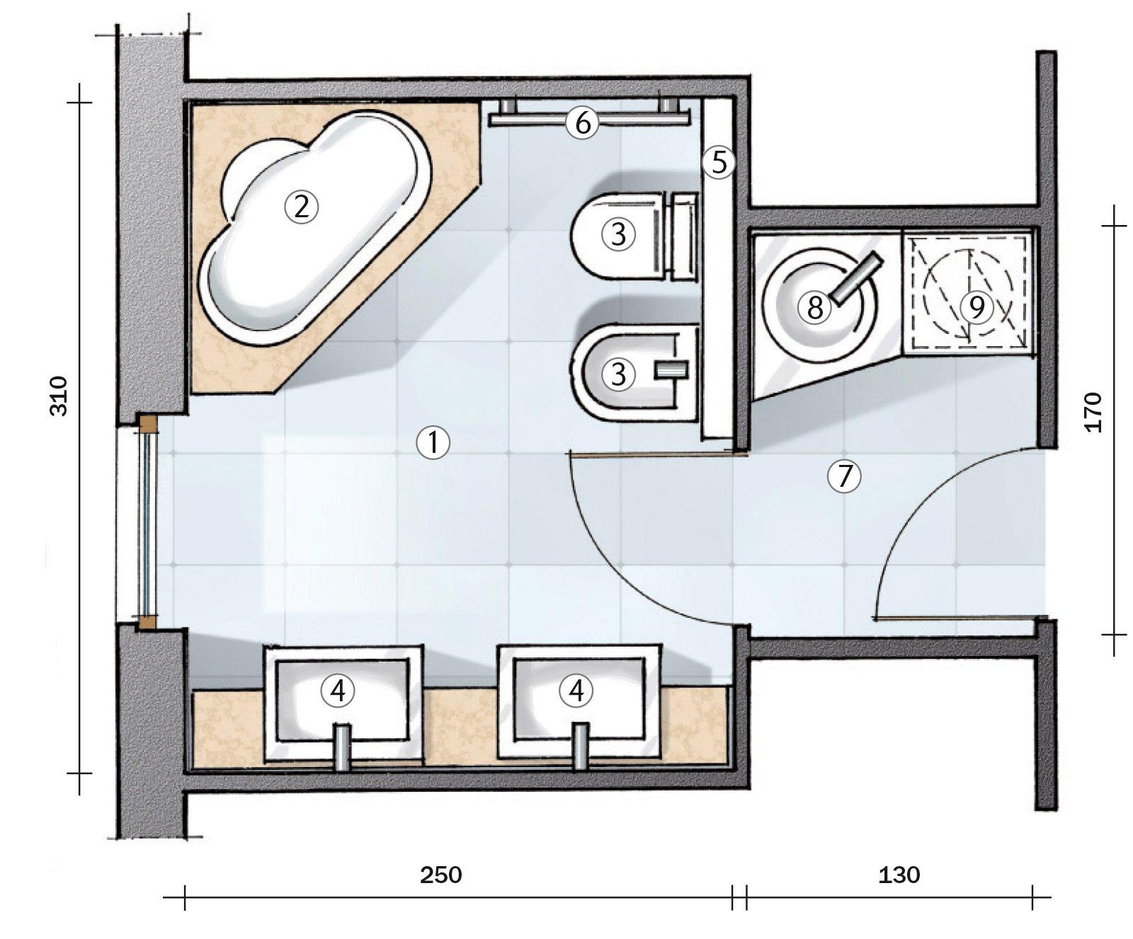 mobile bagno caravan arte povera decap da 120 cm lavabo in ... - Bagni Moderni Progetti