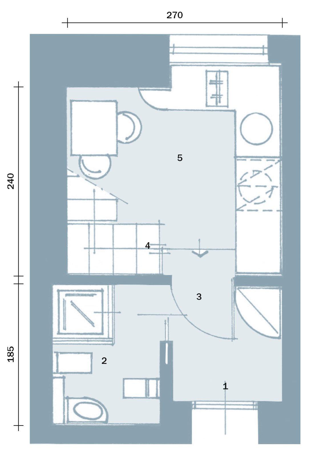 Emejing Dimensioni Mobili Cucina Gallery - Home Ideas - tyger.us